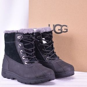 Youth UGG Leggero Lace Up Winter Snow Boots